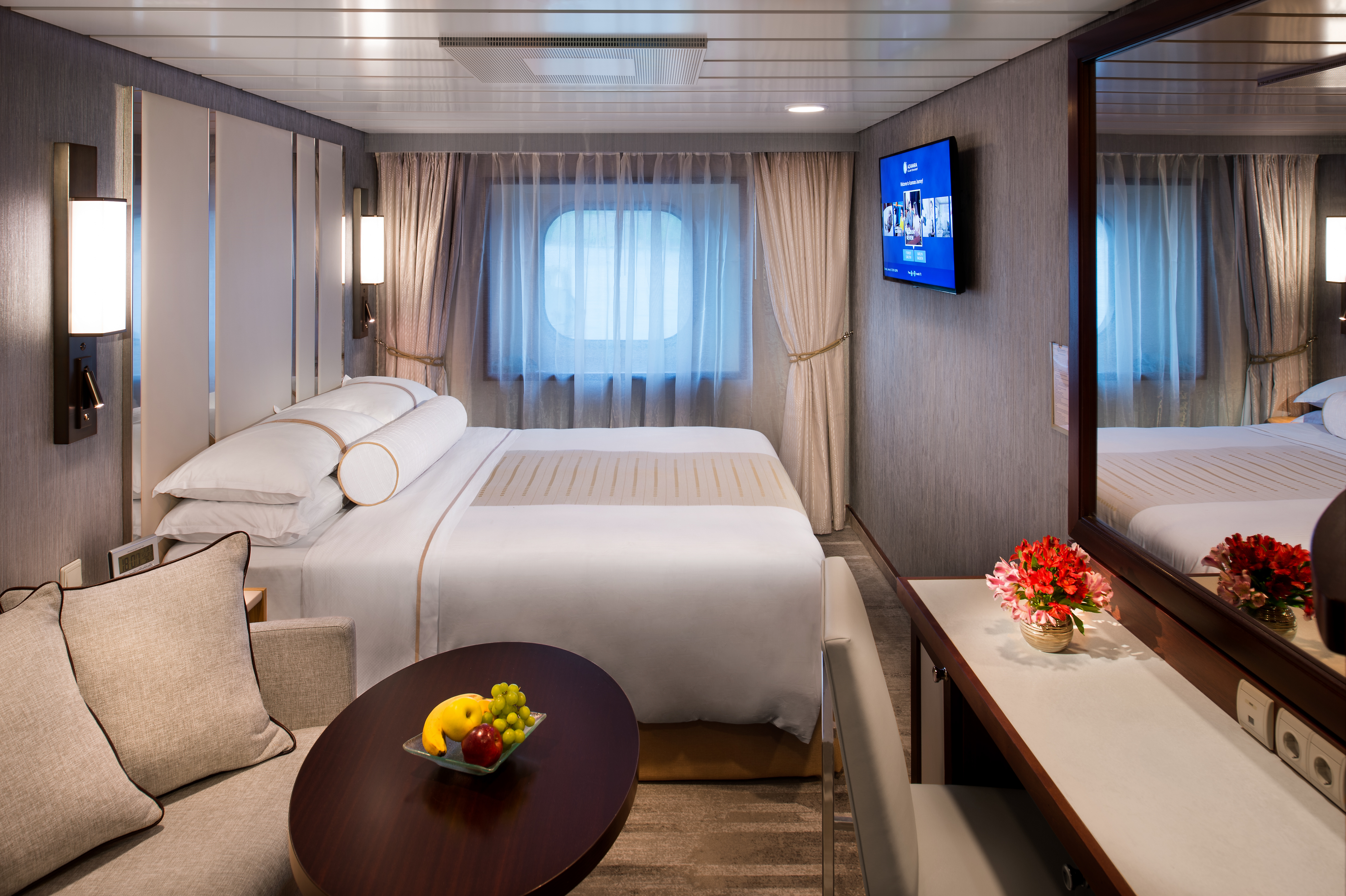 Club Oceanview Stateroom (Porthole View)