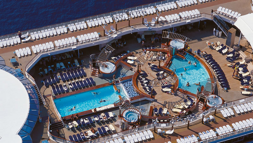 Celebrity Infinity Cruise Ship from Celebrity Cruise Line