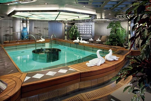 Cruises aboard ms nieuw amsterdam holland america line for Hydroponic pool