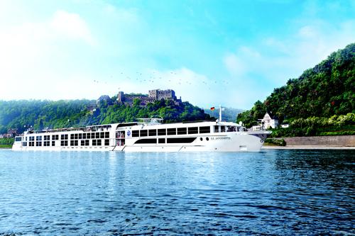 S.S Antoinette on the Rhine River