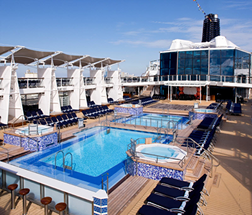 Celebrity Solstice Pool Deck