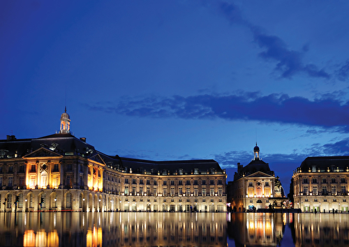 Bordeaux place de la bourse