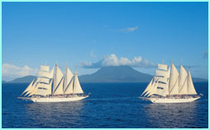 Cruise Ship - Star Clipper