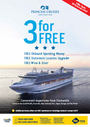 Poster: Pricess Cruises 3 for free