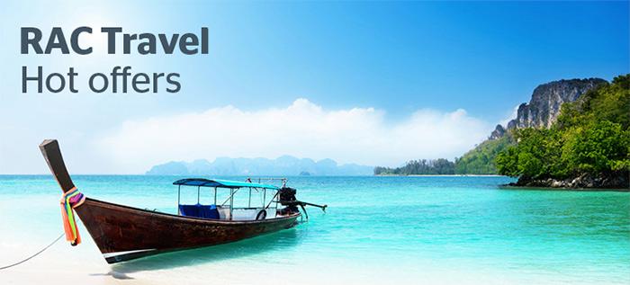 RAC Travel - Hot Offers
