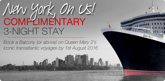 Cunard - Free New York Stays