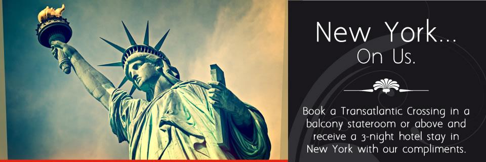 Cunard - Free Hotel Stays in New York
