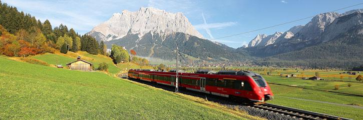 Alpine Rail journeys