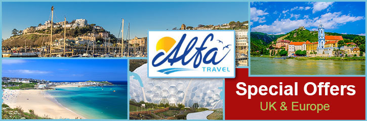 Alfa Travel - save 3% on all Alfa Travel 2017 Holidays