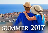 Summer vacations in Europe 2017
