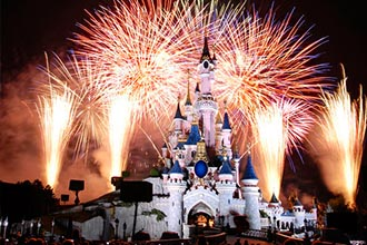 Celebrate New Year in Disneyland