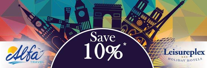 Alfa Travel - Save 10%