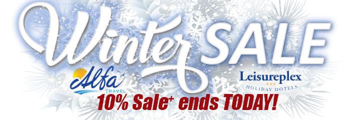 Alfa Travel - Winter 10% Sale!