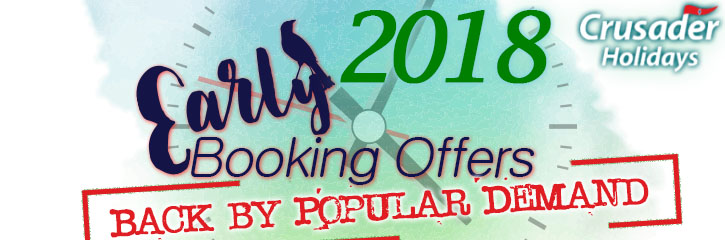 Early Booking Offers for 2018