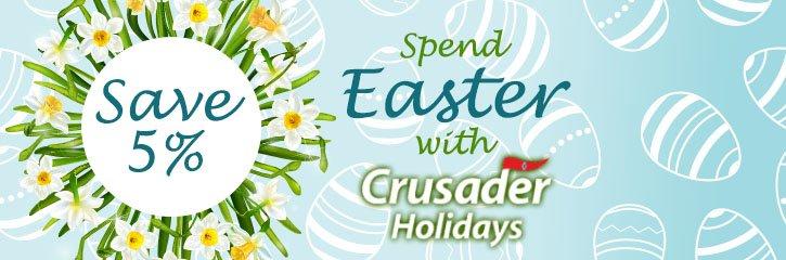 Crusader Holidays Top 10 - Save 5%
