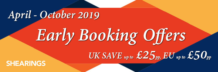 Early booking offers from Yorkshire