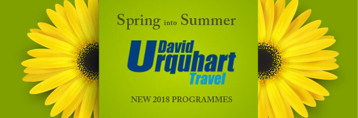 Spring and Summer Deals from David Urquhart Holidays