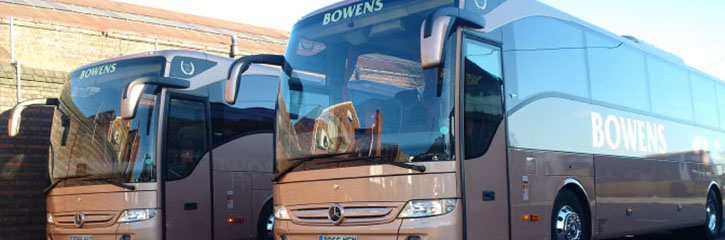 Bowens Holidays Coaches