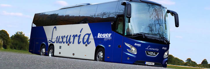 Leger Holidays - Luxuria Coach