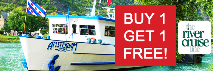 The River Cruise Line - Buy 1 Get 1 Free