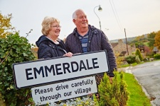 Emmerdale tour visitors photo