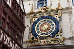 The Gros Horloge, Seine,France