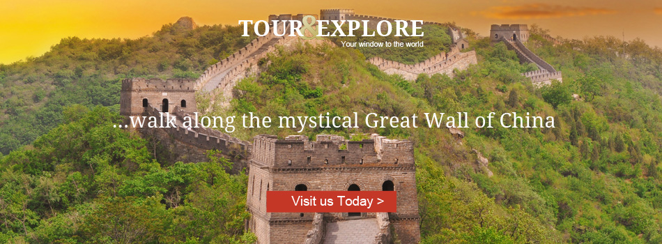 Walk along the mystical Great Wall of China