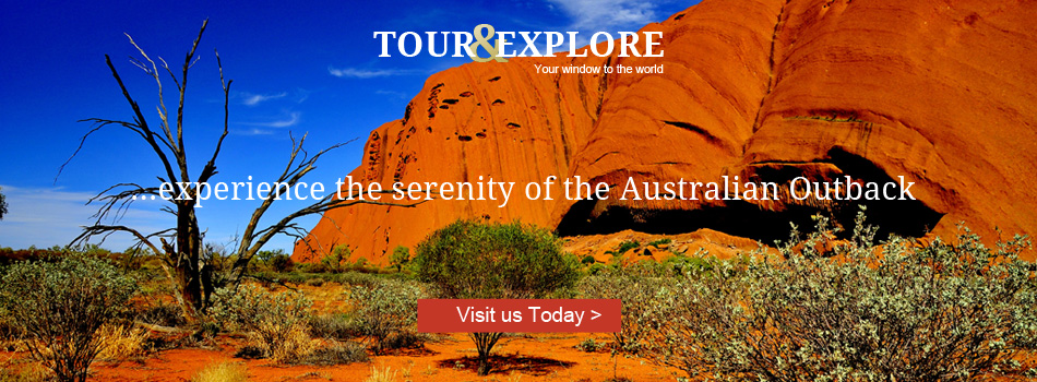 Experience the serenity of the Australian outback