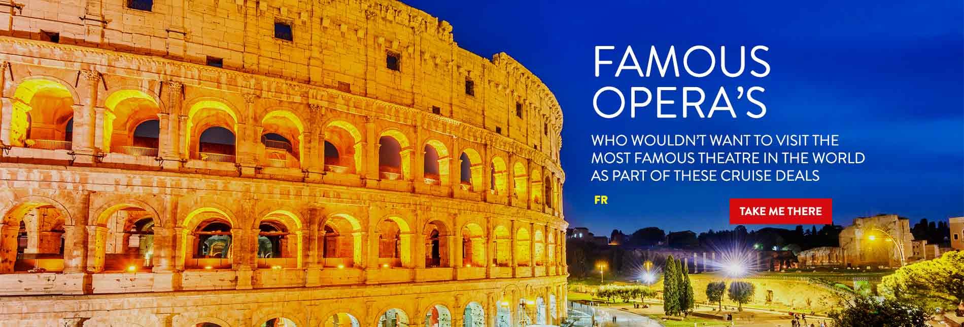 Verona Opera Cruise Deals