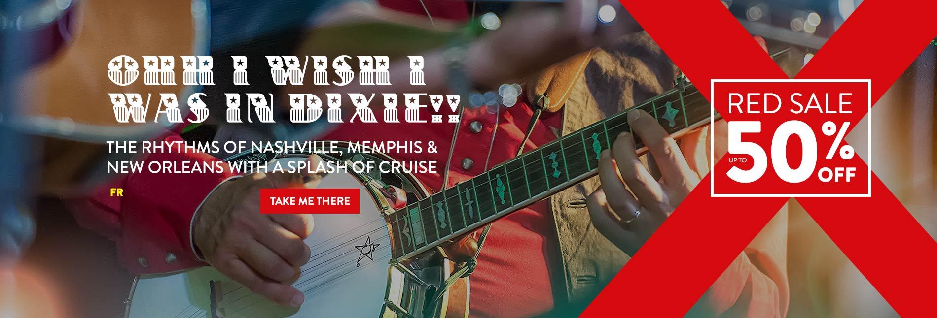 Nashville, Memphis & New Orleans Cruise Deals
