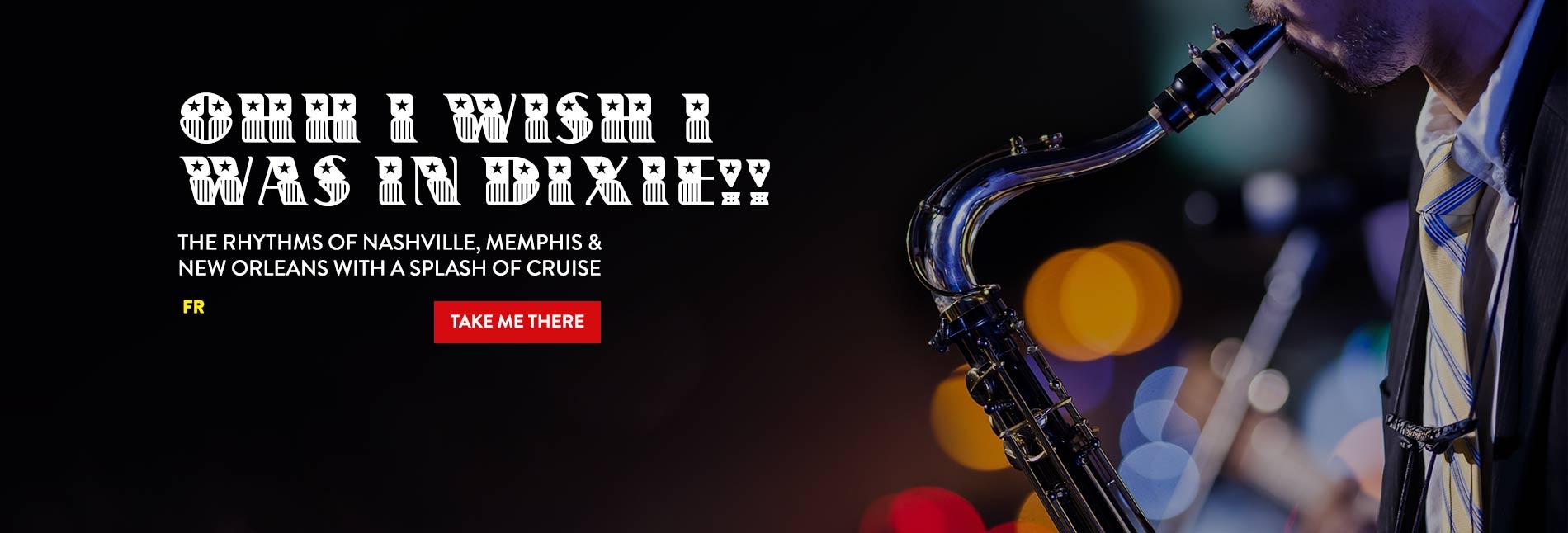 Nashvile, Memphis & New Orleans Cruise Deals