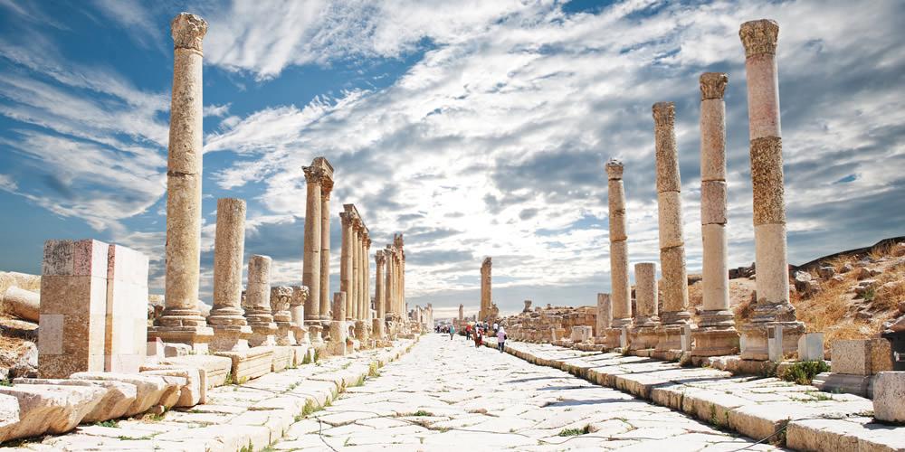 History in Jordan