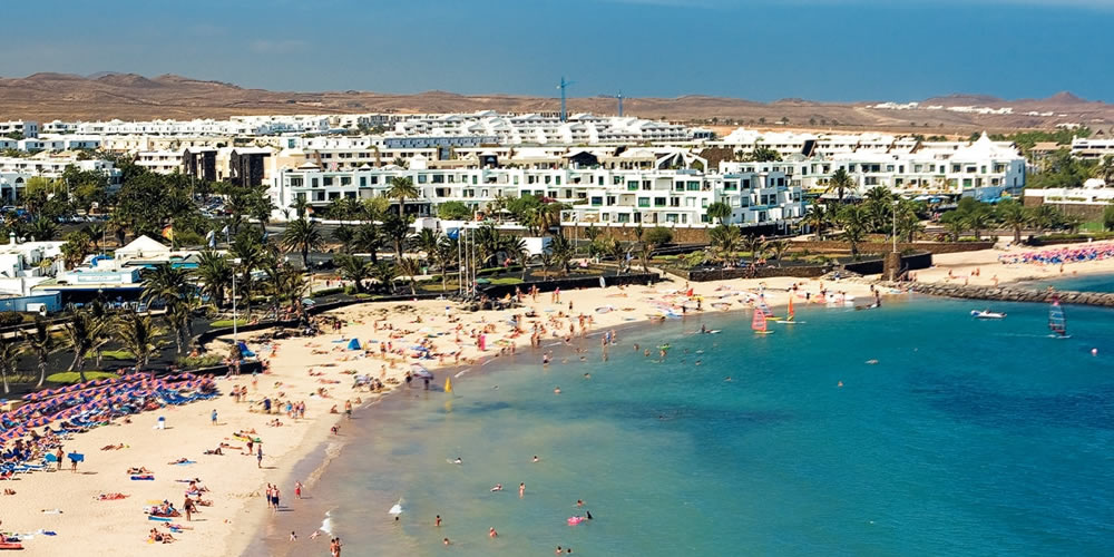 Costa Teguise in Lanzarote