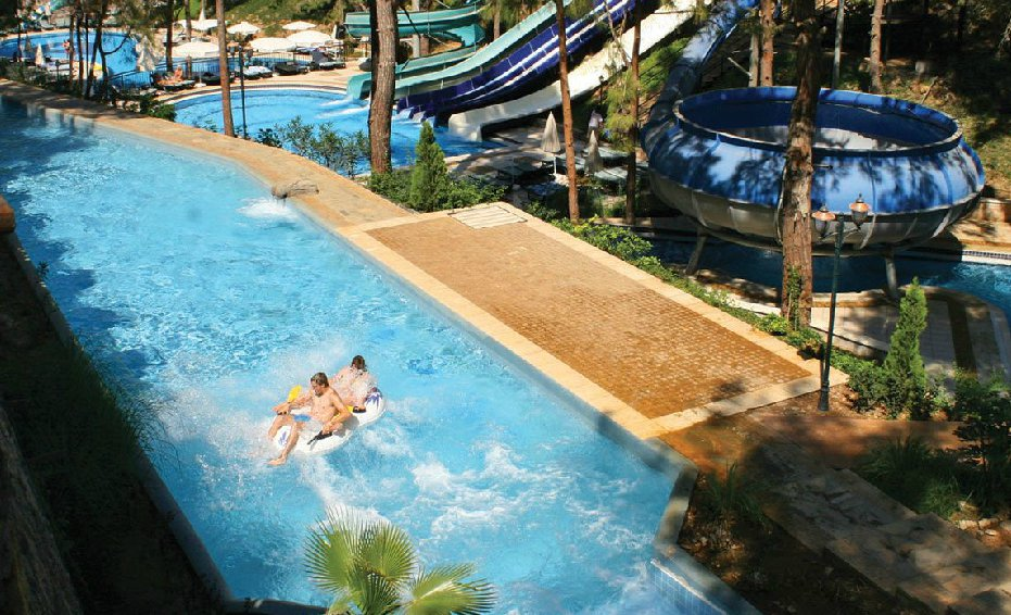 holiday hotels in antalya with free water park or waterslides. Black Bedroom Furniture Sets. Home Design Ideas