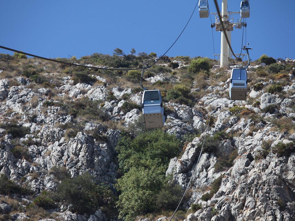 Cable Car Ride in Benalmadena