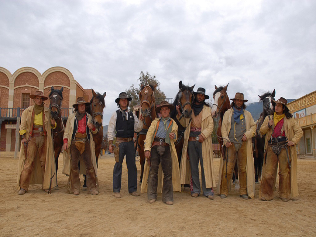 Cowboys at the Oasys Western Theme Park (Not Tour Reps)