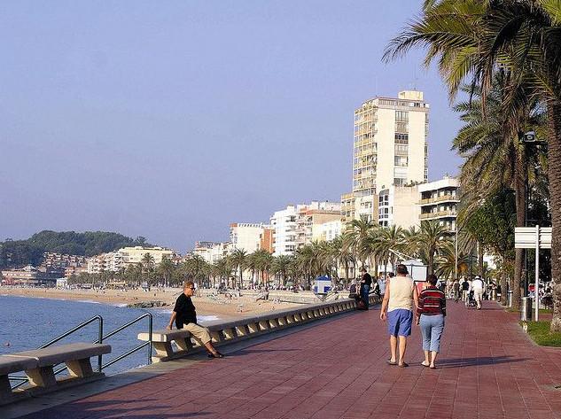 Lloret de Mar promenade