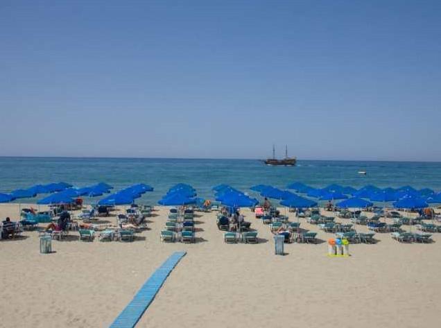 Rethymnon beach