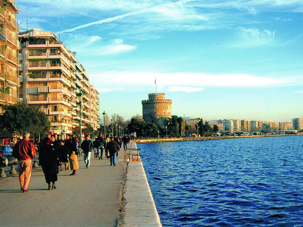 Take a day trip to Thessaloniki