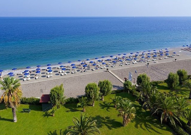 Ialyssos beach