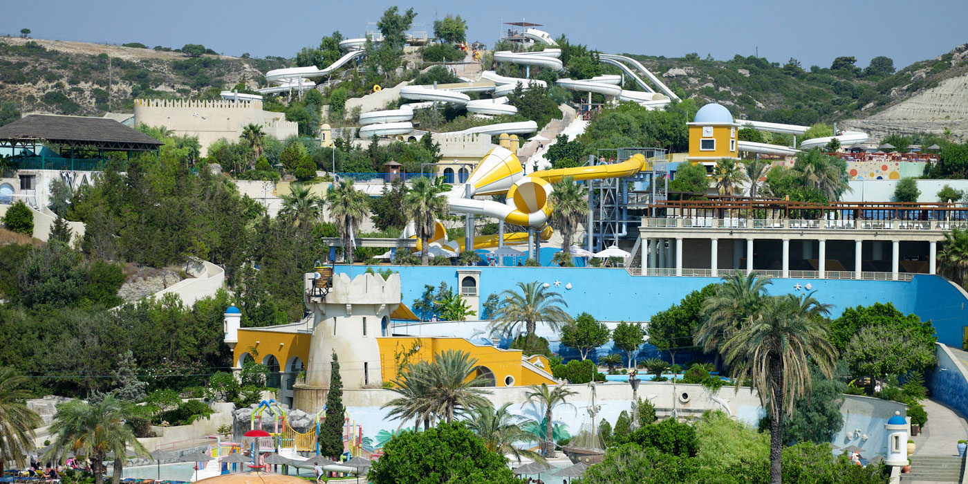 Day tip to Rhodes Water park