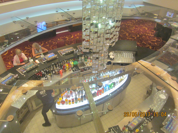 Norwegian Epic Cascades Bar
