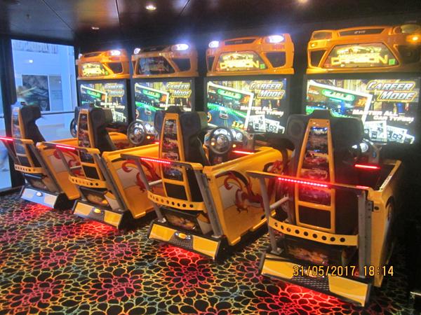 Norwegian Epic Video Arcade