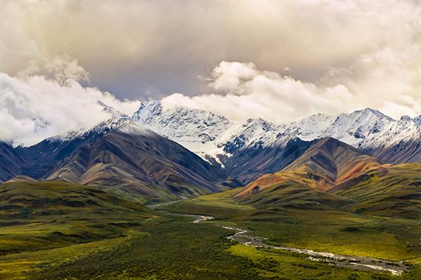 The Alaskan Tundra, Alaska, USA