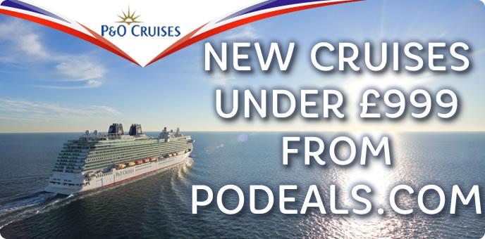 P&O Cruises Under £999