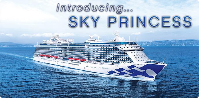 princess cruises introducing sky princess