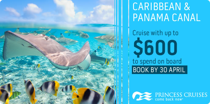Princess Cruises - On Board Spending Money in the Caribbean and Panama Canal