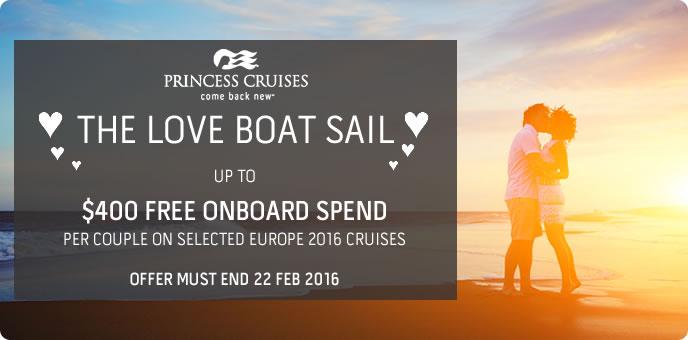 Princess Cruises - Love Boat Sail Sale