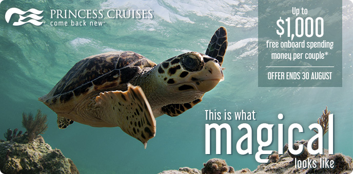 Princess Cruises - FREE On Board Spending Money