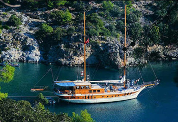 Gulet Cruises From Marmaris Bodrum Fethiye Gulet In Turkey